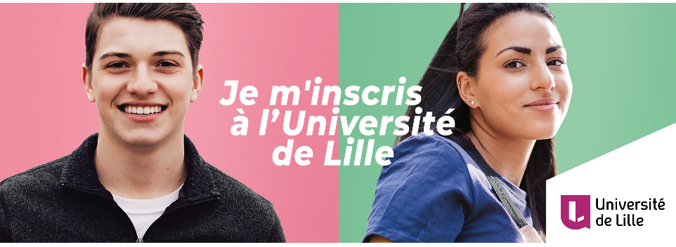Inscriptions administratives à l'Université de Lille